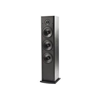 """Polk Audio T-Series T50 Dual 6.5"""" 2-Way Floorstanding Loudspeaker, Single, Black"""