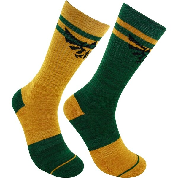 Legend of Zelda Flipped Colors Crew Sock, 10-13