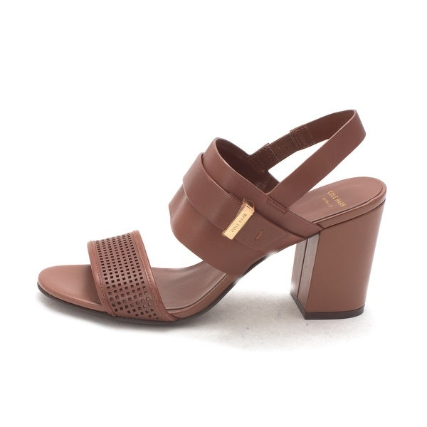 Cole Haan Womens Daralissam Open Toe Casual Slingback Sandals - 6
