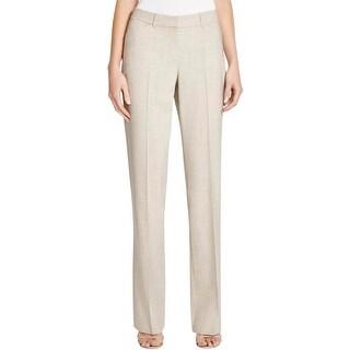 Theory Womens Custom Max 2 Dress Pants Wool Woven