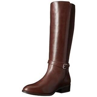 Lauren Ralph Lauren Womens Meranda Leather Knee-High Riding Boots - 10 medium (b,m)