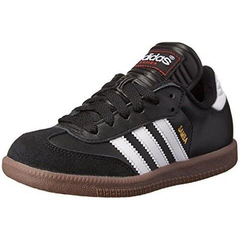 Adidas Kids Unisex Samba® Classic Core (Toddler/Little Kid/Big Kid) Black/Running White Sneaker 3 Little Kid M