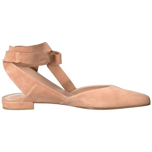 Stuart Weitzman Womens Supersonic Ballet Flat