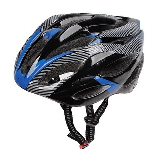 Black Gray Blue Plastic Hollow Out Cycling Helmet Head Protector