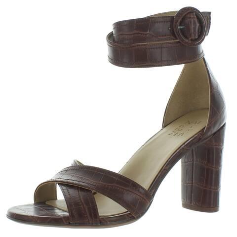 Naturalizer Womens Rinna Heel Sandals Open Toe