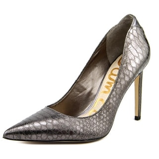 Sam Edelman Dea Women Pointed Toe Synthetic Silver Heels