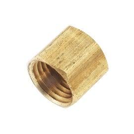 AMC 1/4 Fip Ylw Brass Cap