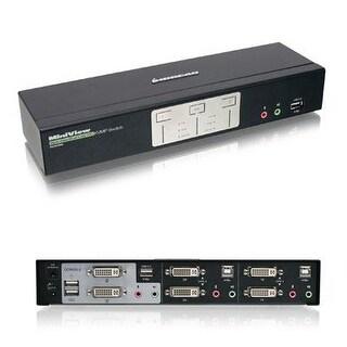 Iogear 2-Port Dual View Dual Link Dvi Kvmp Switch With Audio,Gcs1642