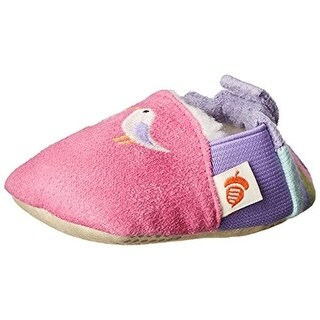 Acorn Easy-On Moc Embroidered Slippers - 18-24 mo