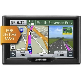 Refurbished Garmin Nuvi 68LM 6 Touch Screen GPS w/ FREE Lifetime Map Updates ( 010-01399-04 )