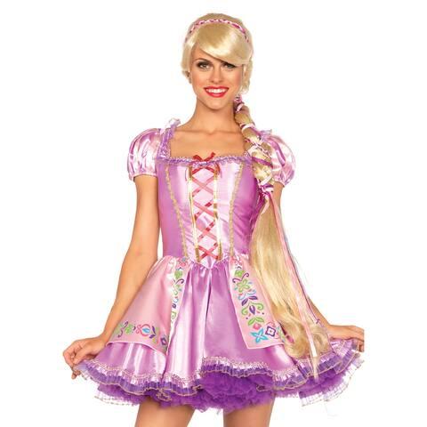 Womens Disney Tangled Rapunzel Braid Wig - Standard - One Size