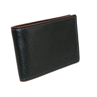 Buxton Men's Leather RFID Front Pocket Slim Bifold Wallet - One size (Option: Tan)