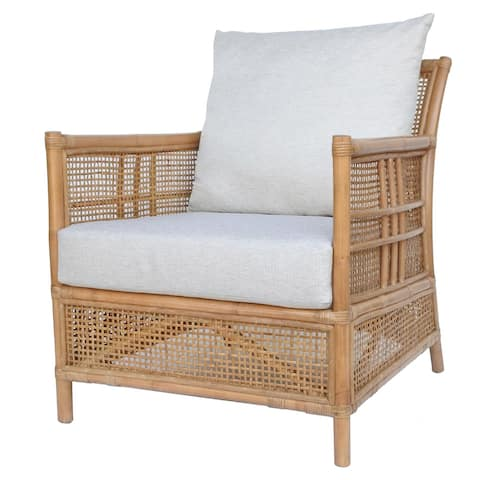 Fontana Rattan Accent Arm Chair
