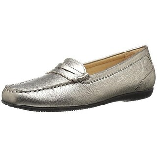 Trotters Womens Staci Leather Patent Trim Dress Shoes