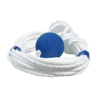 30' High Strength Life Preserver Lifeline with Safety Ball for Swimming Pools