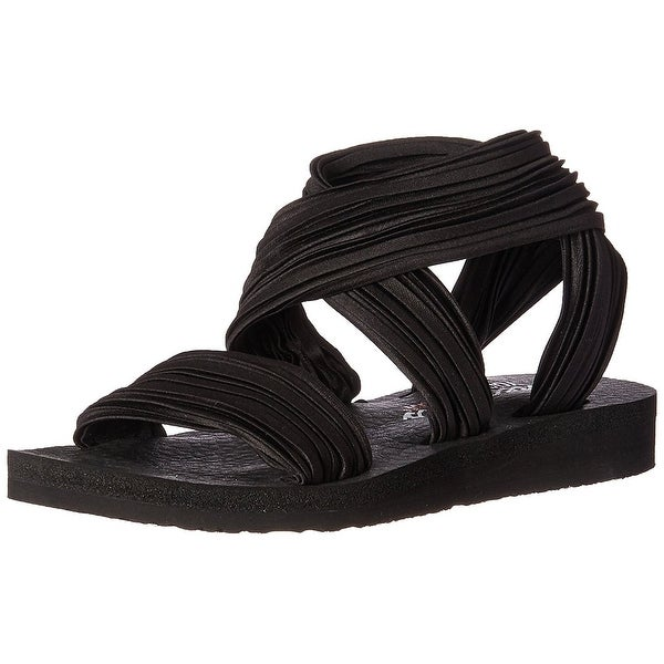 Shop Skechers Cali Women's Meditation Still Sky Flat Sandal