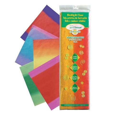 Spectra bleeding art tissue 5 color madras 58560