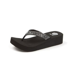 Yellow Box Women's Africa Flip Flop