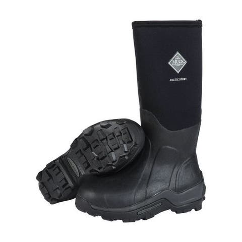 The Original Muck Boot Company Arctic Sport Men's Boots 13 US Black