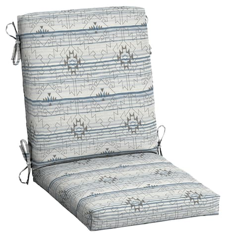 Arden Selections Outdoor High Back Dining Chair Cushion