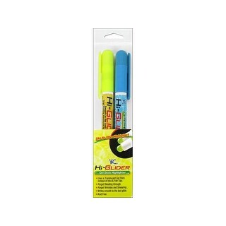 Y&C Hi-Glider Highlighter Yellow/Blue 2pc