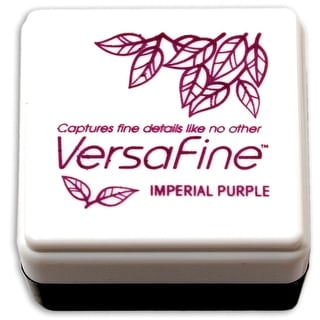 Versafine Pigment Small Ink Pad-Imperial Purple