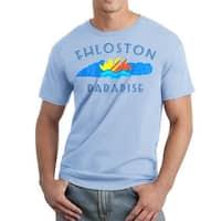 The Fifth Element Fhloston Paradise Retro Men's Light Blue T-shirt