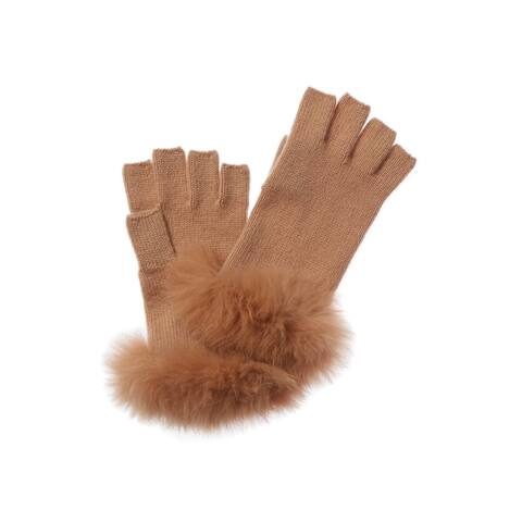 Amicale Cashmere Cashmere Fingerless Gloves