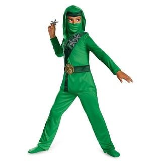 Disguise Green Master Ninja Child Costume