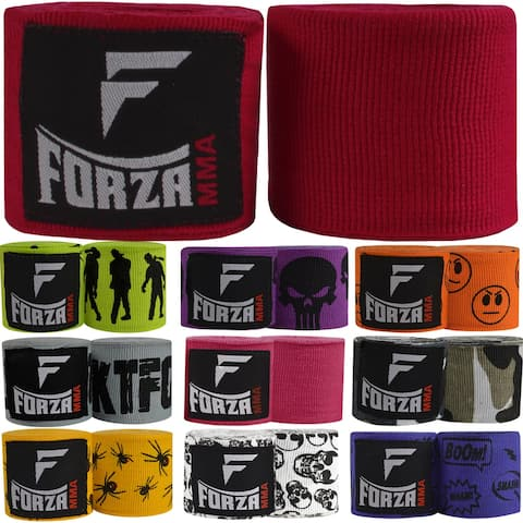 "Forza Sports 180"" Mexican Style Boxing and MMA Handwraps - 10-Pack"