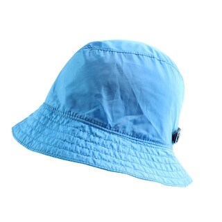 Coach NEW Azure Blue Women's Size Medium M/ Large L Nylon Bucket Hat