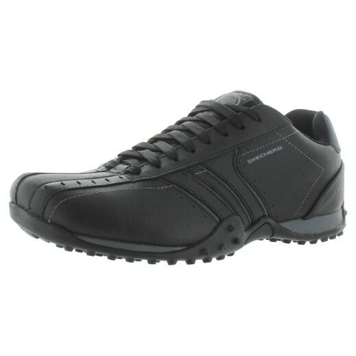 Shop Skechers Urban Track Forward Men's Casual Oxford Shoes
