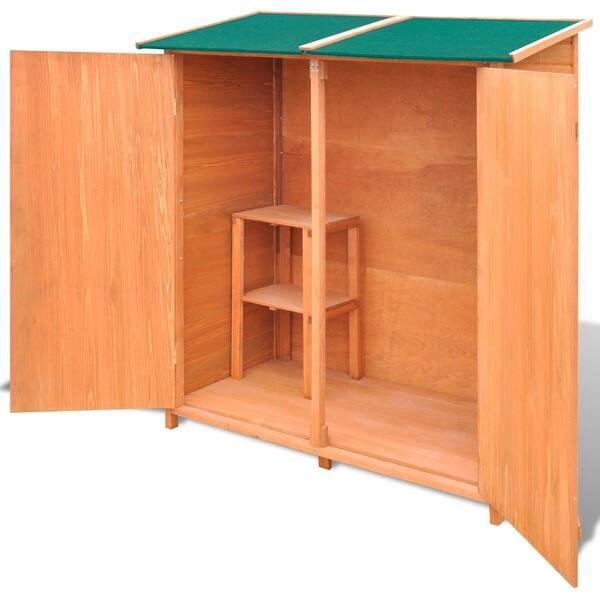 vidaXL Garden Shed 257x298x178cm Metal Grey Outdoor Tool Storage House Cabin
