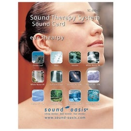 Sound Oasis Sound Card, Ear Therapy [Health and Beauty]