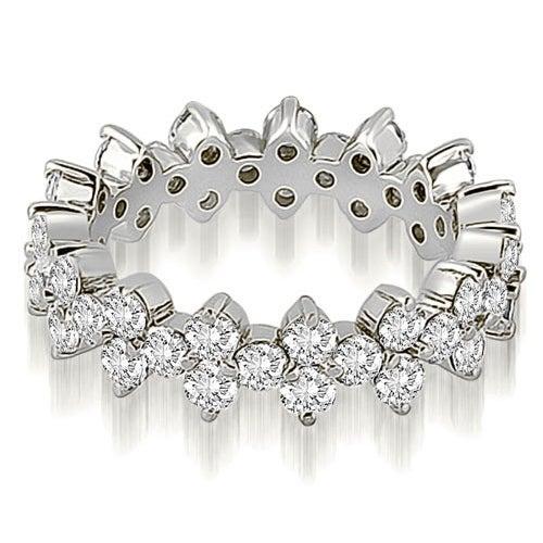 1.50 cttw. 14K White Gold Round Diamond Eternity Ring