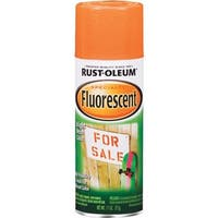 Rust-Oleum Flrscnt Orng Spray Paint 1954-830 Unit: EACH