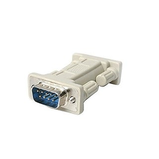 Startech Nm9mm Db9 Rs232 Serial Null Modem Adapter - M/M