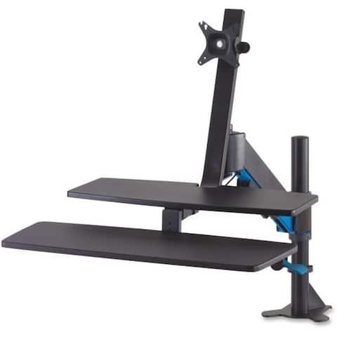 Kensington KMW55792 Sit-Stand Workstation with Smartfit - Black