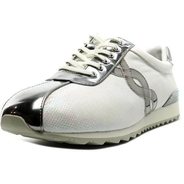 Easy Spirit Lexana Women W Round Toe Canvas White Sneakers