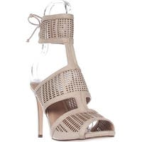 Call It Spring Forcey Ankle-Cuff Dress Sandals, Bone