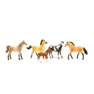 M&F Western Toys Kids Horses Play Set 5 pieces