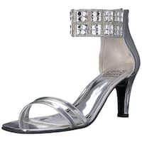 Love and Liberty Womens Scarlett Open Toe Special Occasion Ankle Strap Sandals