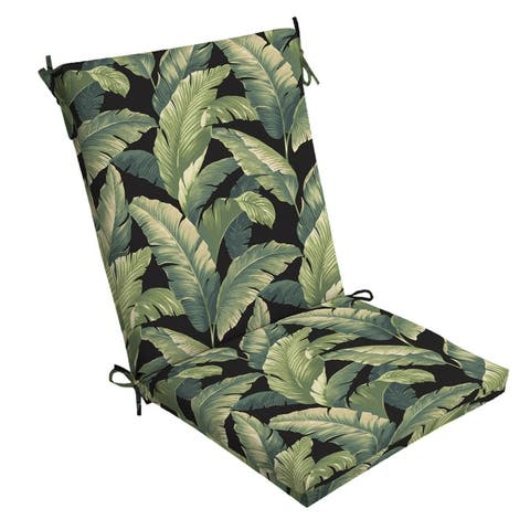 Arden Selections Onyx Cebu Outdoor Chair Cushion - 44 in L x 20 in W x 3.5 in H