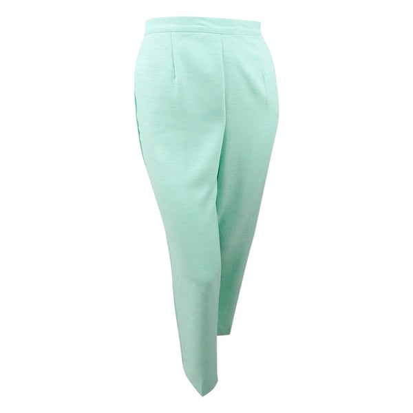 Alfred Dunner Women's Plus Size Flat Front Pull-On Pants. Opens flyout.