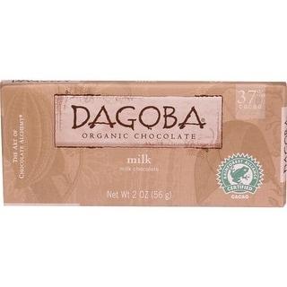 Dagoba Organic Chocolate - Organic Milk Chocolate Bars ( 12 - 2 OZ)