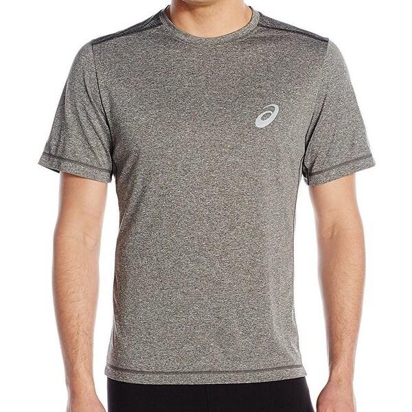 e673134d Shop Asics Gray Mens Size Large L Conquerer Performance Tee T-Shirt ...