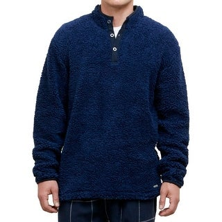 Kenneth Cole Reaction NEW Navy Blue Mens Small S Mock Turtleneck Sweater