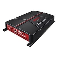 Pioneer GM-A4704 4-Channel Bridgeable Amplifier ,Black/red