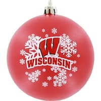 Wisconsin Badgers Shatter-proof Ornament