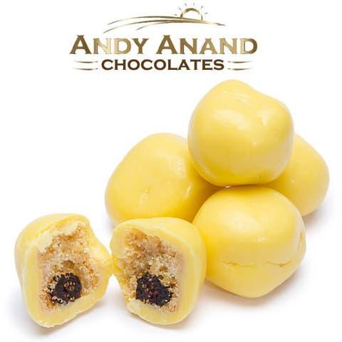 Andy Anand Belgian Chocolate Lemon Blueberry Shortbread Malt Ball